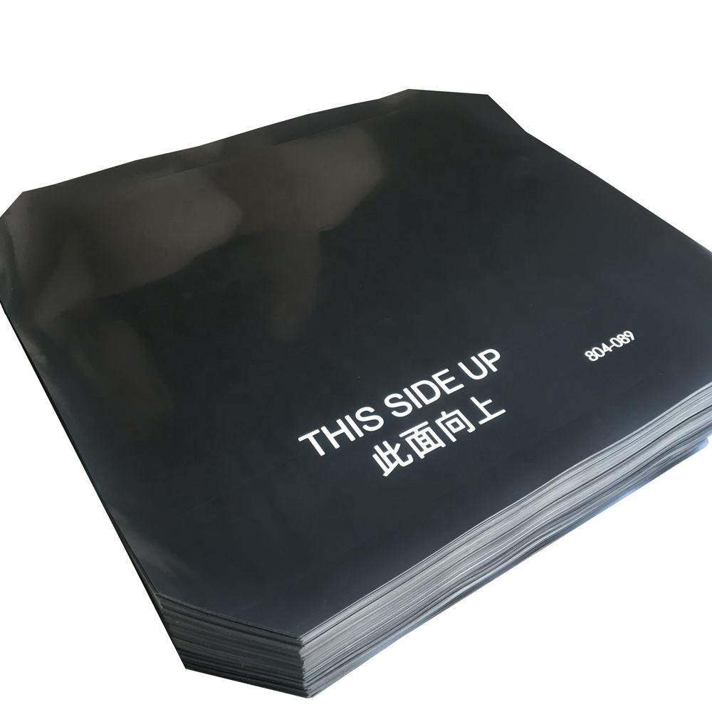High Quality Black Color Anti Slip HDPE Plastic Slip Sheet with Certificate