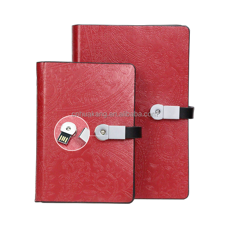 2017 Kulit Notebook USB A5 Diary Kulit Notebook Perencana