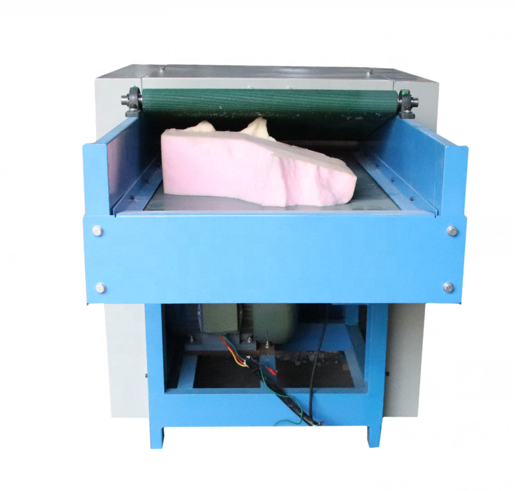 2019 new design big capacity best quality factory directly supply memory sponge recycle foam shredder machine for sale