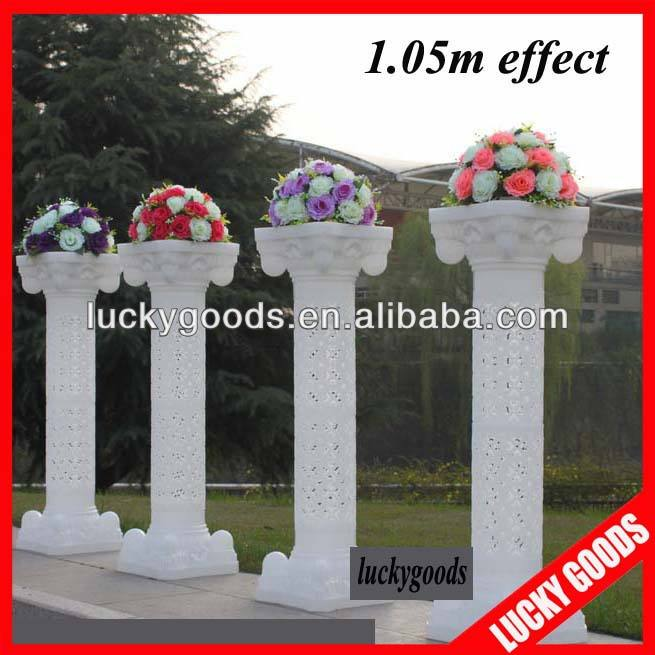 Luckygoods quality party and wedding pillars columns for sale