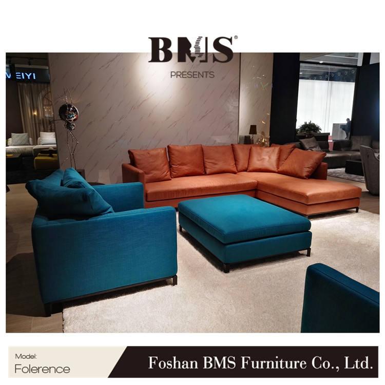 L forma 3 plazas sofá nuevo diseño mueble de <span class=keywords><strong>Casa</strong></span> sofá de tela
