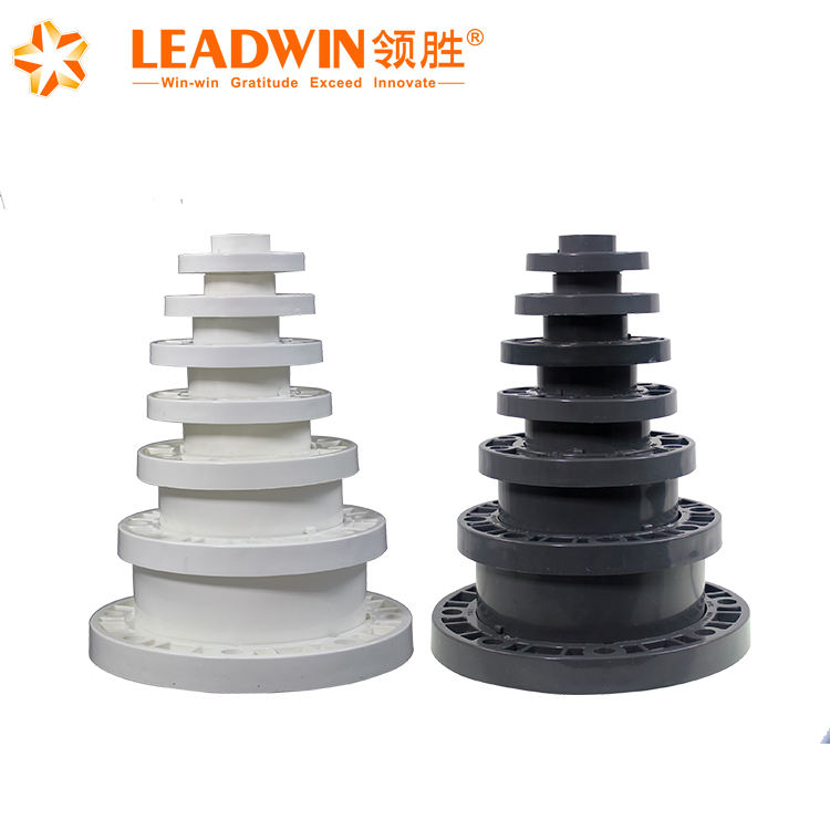 Professional manufacture supply pvc pipe fittings flanges pipe flange