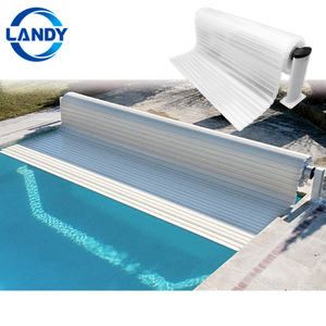 Electric retractable thermal pool covers for inground swimming pools save cost picture