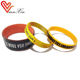 custom thin wristbands enamel bracelet bangle