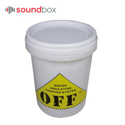 Thixotropy Vibration Damping and Sound Proof Noise Insulation Paint