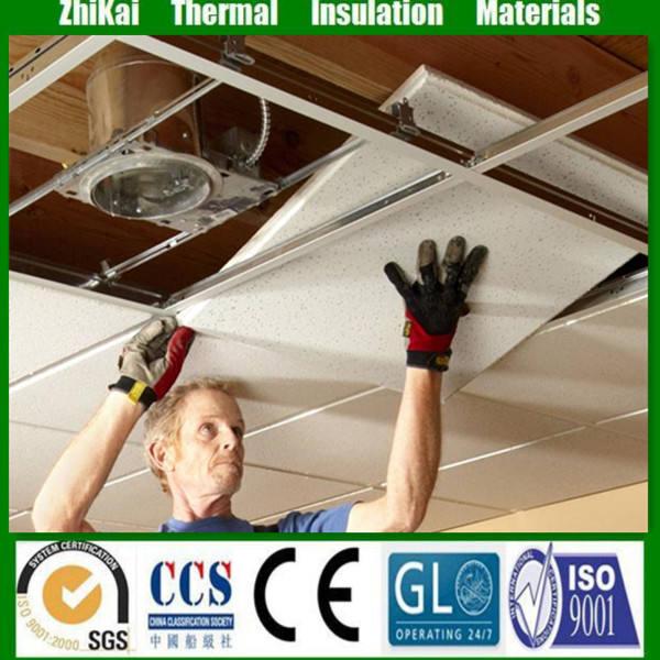 2x2 Barato mineral placa do teto <<span class=keywords><strong>br</strong></span>/> 610*610 Suspenso telhas do teto Acústico