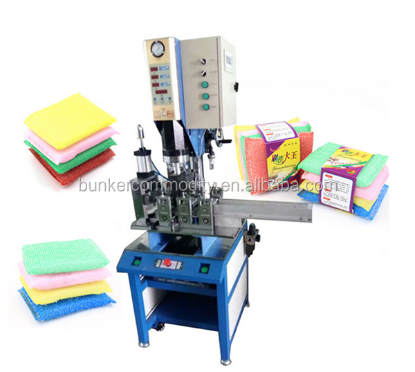 3.2kw fully automatic scrubber sponge machine