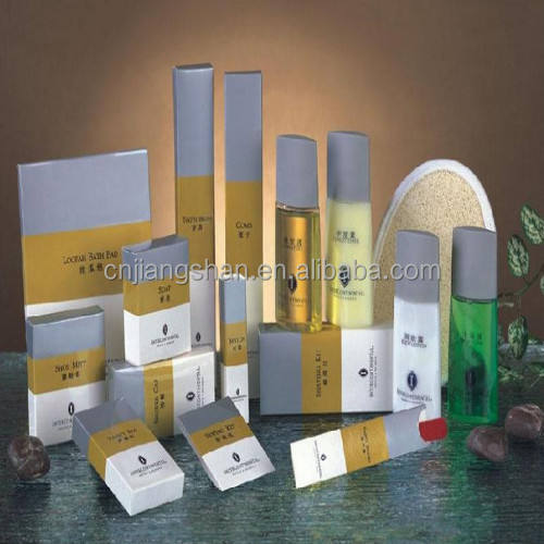 hotel amenities pack (export to EUROPE 5*40 container last month)