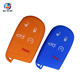 AS071001 Silicone Car Key Cover For Jeepe Chrysler Dodge