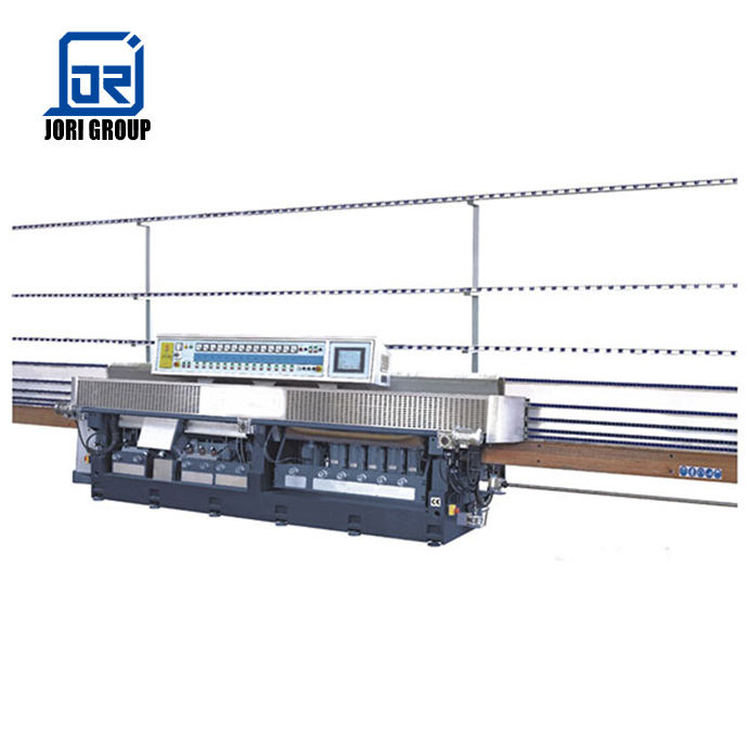 Glass Straight-Line Angle Changing Edging Machine JZM14-45