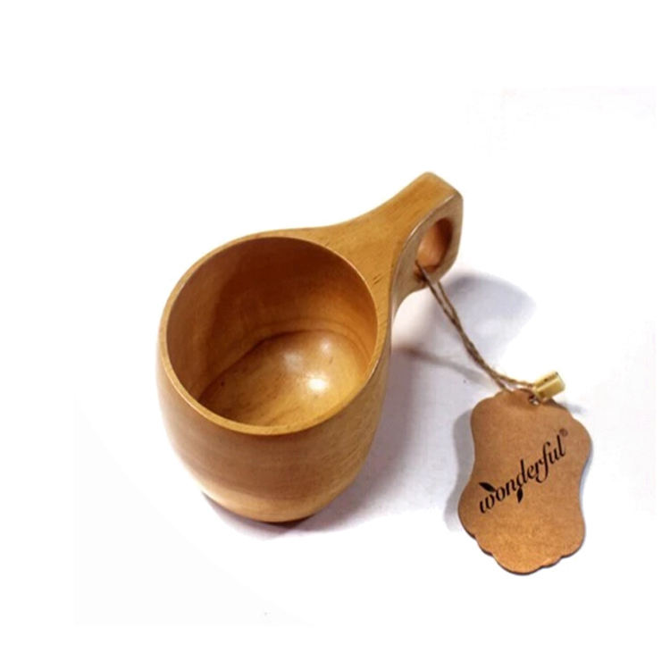 Home daily use drinking bamboo cup