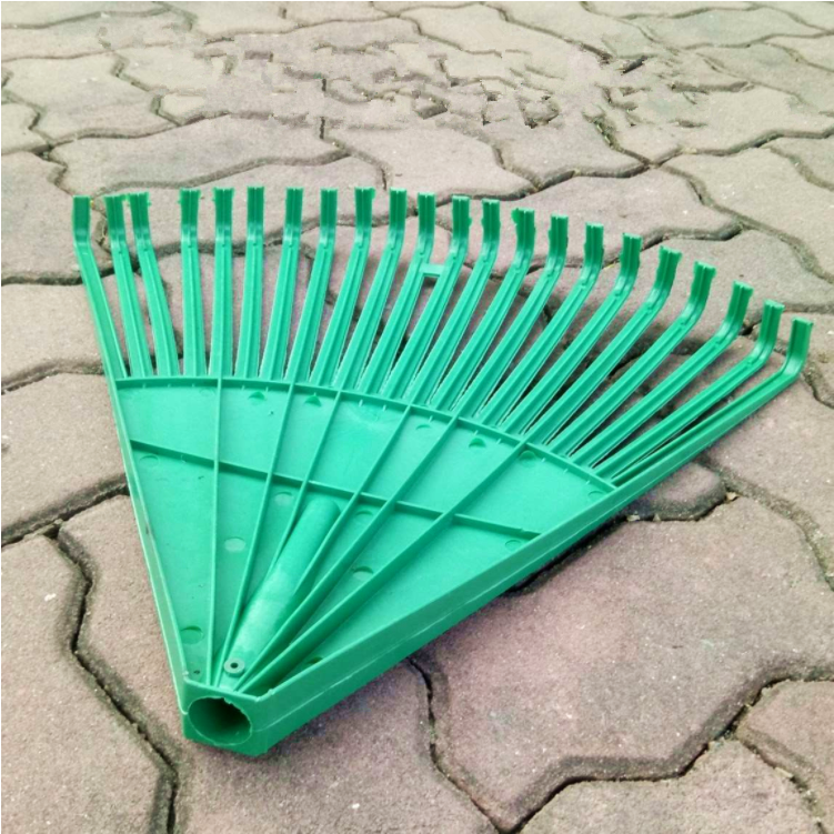 Wholesale new cheap garden plastic leaf rake heads