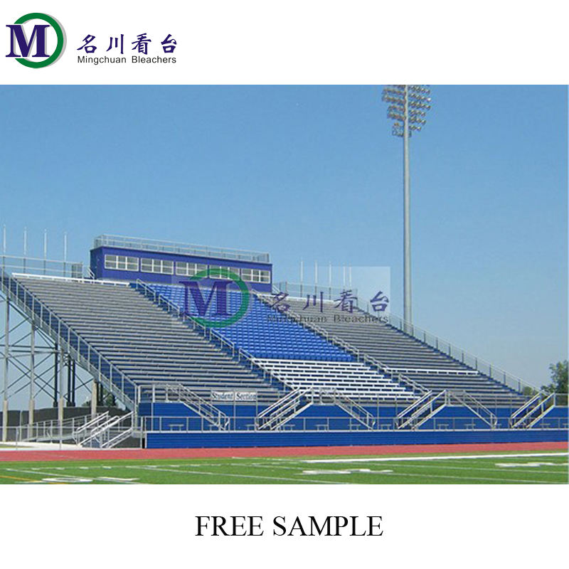 2021 MC-PLR01 scaffolding grandstand Aluminum Cricket Stadium Bleachers Retractable Seating System Portable granstand