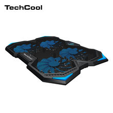 Hot selling 17inch 4 fans laptop cooling pad adjustable folding laptop cooler dual USB notebook Cooler