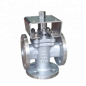 API599 Newly Stainless Steel CF8 Sell 3 Way Plug Valve