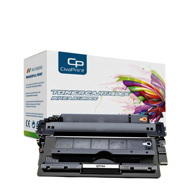 Civoprint Laser Toner Cartridge Q7516A Crg-509 709 untuk LaserJet 5200 5200Tn 5200Dtn Printer