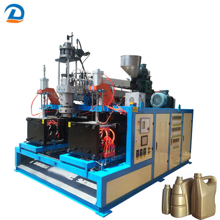 Fully Automatic HDPE PP Extrusion Blow Molding Machine 10L With Great Price