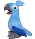 Custom wild animal Blue Macaw Rio de Janiero Female Plush Bird Doll