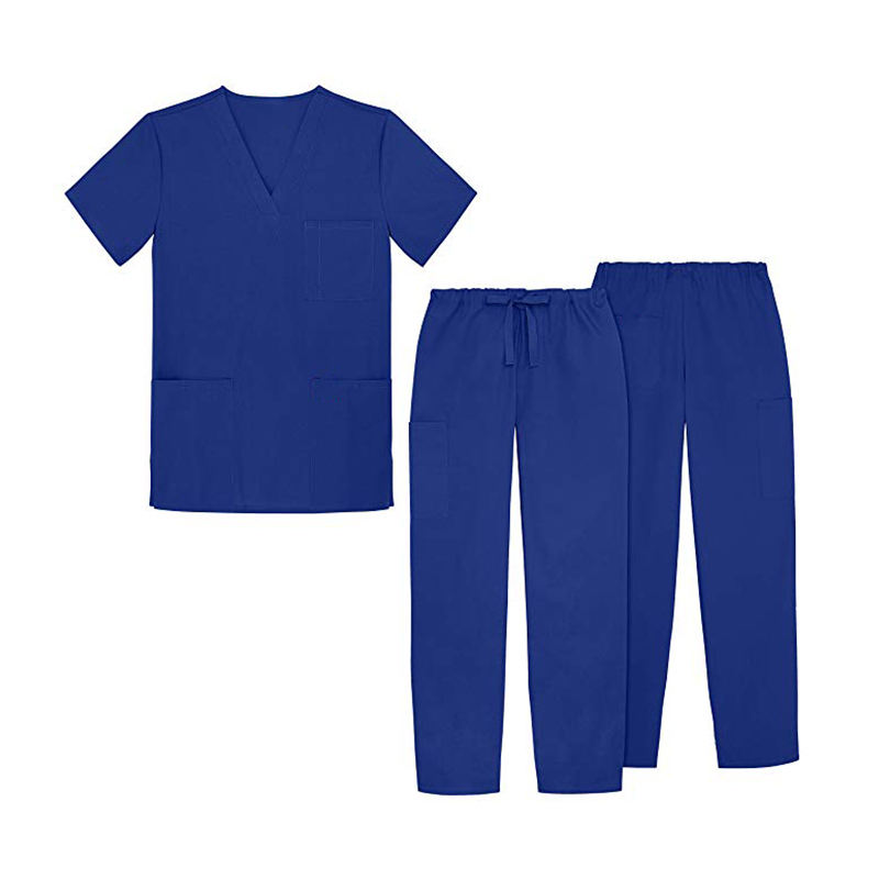 Commercio all'ingrosso Scollo A V unisex cura scrubs uniformi mediche/medico scrubs