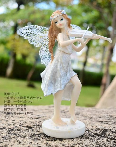 Figuras 3d de happy angel, venta al por mayor, para recuerdo