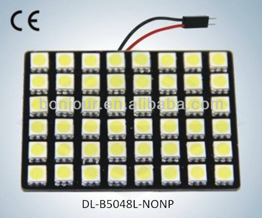car reading bulb 48pcs 5050 smd led car interior dome light