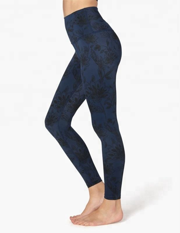 Wholesale compression black sports tights wear custom logo yoga pants tights women leggings