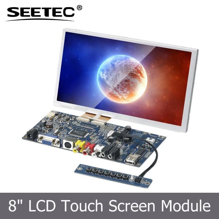 8 дюймов гибкая TFT сенсорный экран реклама цифровых вывесок видео mp3-плеер жк-дисплей