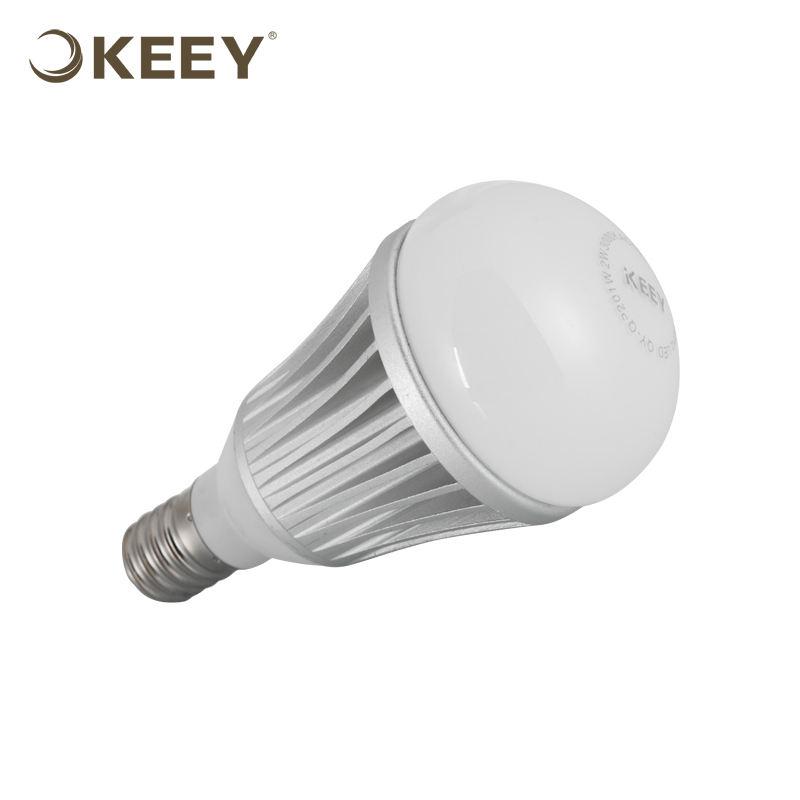 KEEY Silver Базовые 3 Вт E14 Светодиодные Лампы, <span class=keywords><strong>R80</strong></span> Светодиодные Лампы QYS6-QP201
