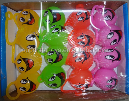 promotional smile face splat ball wholesale cheap splat ball sticky splat ball