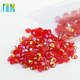 XULIN Manufacturer Supply Non Hot Fix Resin Flat Back Stone DIY Resin Rhinestone