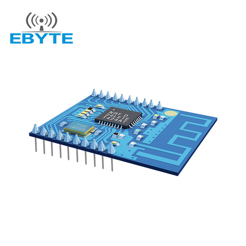 E05-MLE132A 1 mW SPI 100 m nRF24LE1 2.4 ghz wireless audio transmitter module