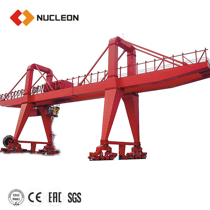 Nucleon granite and marble used gantry crane for sale