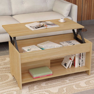 Movable Top Coffee Table