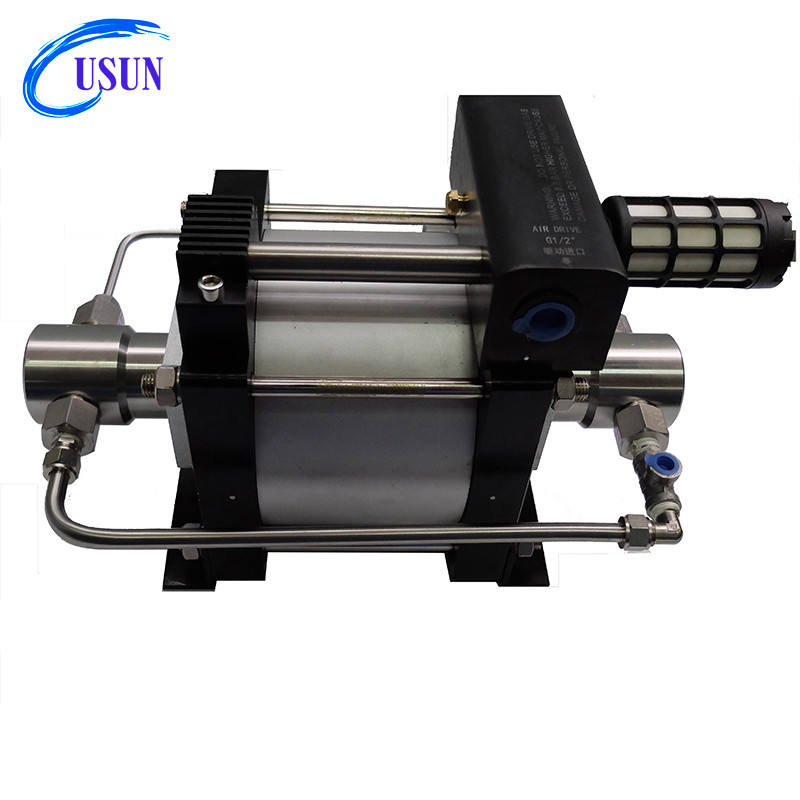 USUN Model:AT170 1000-1400 Bar high pressure air driven oil test pump for wellhead equipment