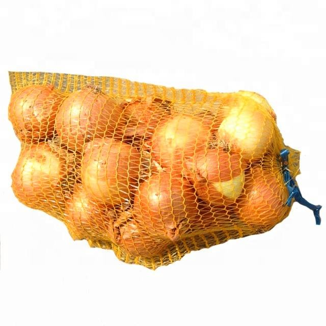 Packing Rolls Vegetable Potato Onion Packages Sack PE Raschel Mesh Bag