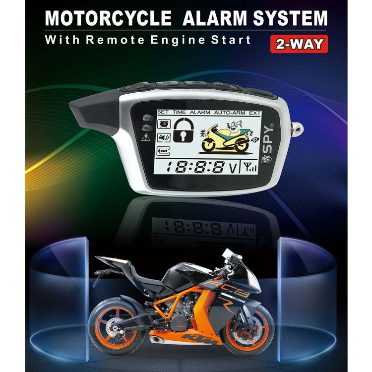 Gorilla Automotive 9000 Motorcycle Alarm with Remote Transmitter