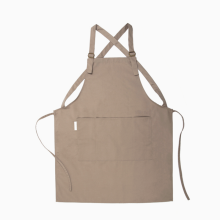 Wholesale top quality makeup barista bakers gardening artist overalls adjustable canvas work apron