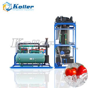 10 tons Industrial ice tube maker machine with PLC Controller