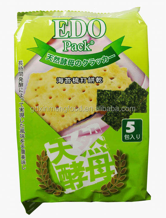 EDO Seaweed Soda Cracker Biscuit