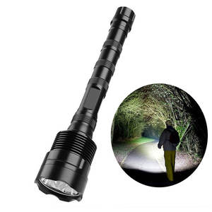 18650 Isi Ulang Anti-Air 3000lm Polisi Taktis LED Torch Ringan