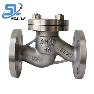 Hot Sale Anti-rusting SUS 304 316 316L SS Flanged Non Return Check Valve With Counter Weight