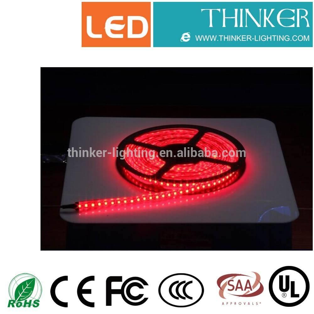 smd3528 120 светодиодов ip20 красный цвет реальной epistar чип светодиодные ленты