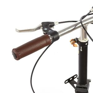 PU Leather and Soft Rubber Bicycle MTB Beach Cruiser Mountain Bike Handlebar Grips
