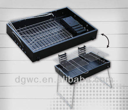 Tafel/paar bbq barbecue grill, dubbele roosters