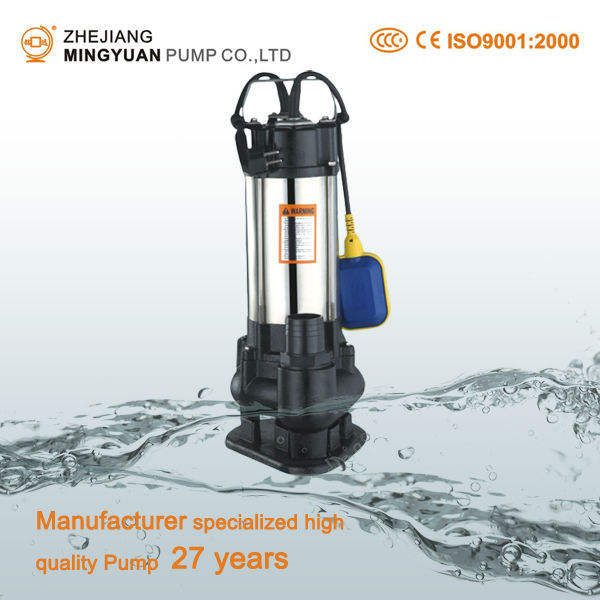Submersible Abrasion Resistant Pump For Dirty Water