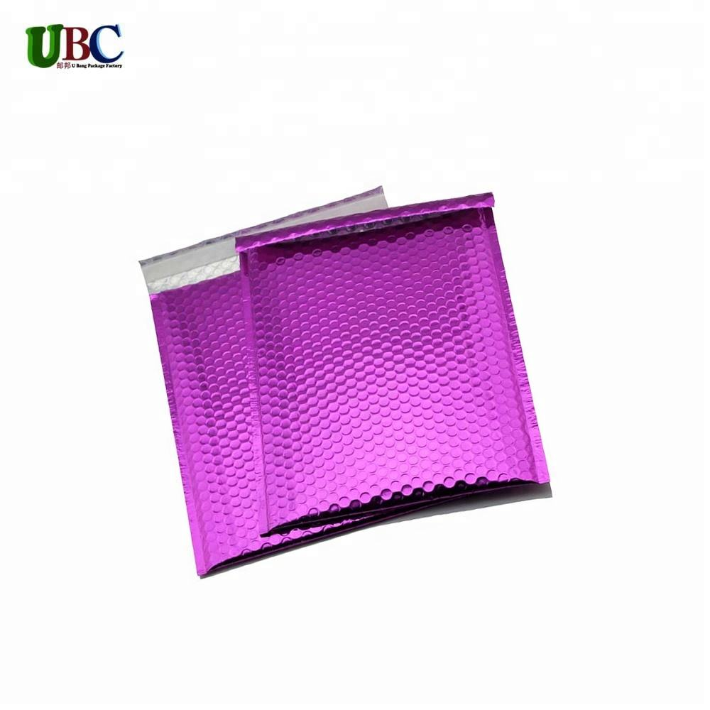With Free Sample Self Pouch Aluminum Metallic Bubble Self Sealing Pouch Mailer