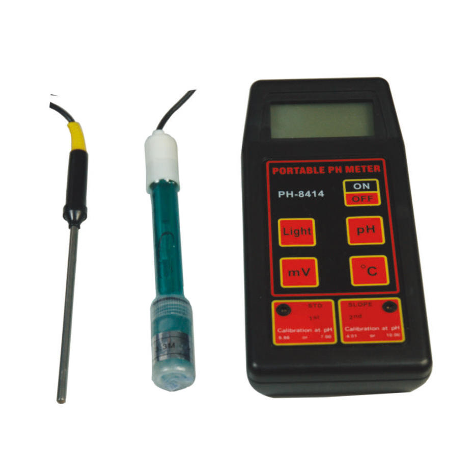 PH0.00-14.00PH Laboratorio Portatile PH Meter Digital PH-8414 con il Prezzo Basso