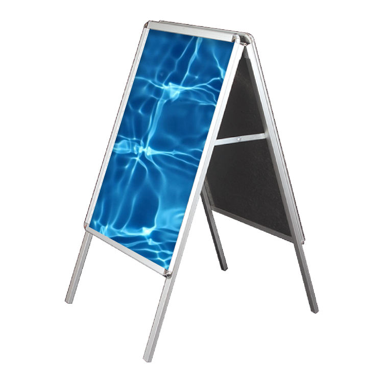 Custom Cheap Aluminum Double Side A Frame Sign A1 Trade Show poster stand