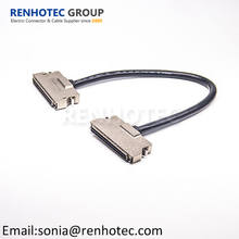 14 20 26 36 50 68 100 Pin SCSI Cable Connector