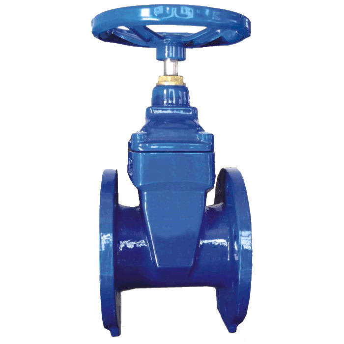 Din 3352 F4 NON-RISING Batang Solid Wedge Disc Gate Valve